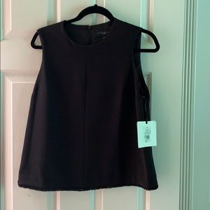 NWT Victoria Beckham for target black top